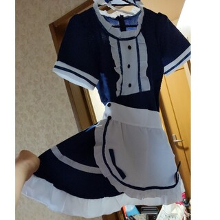 メイド ネイビー コスプレ(衣装一式)