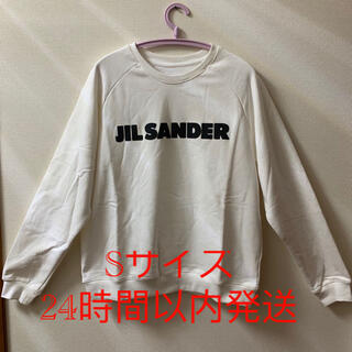 Jil Sander - JIL SANDER21AW秋新品スウェット 白 オーバーサイズSサイズ