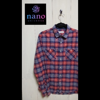 ナノユニバース(nano・universe)の[Nano・universe]ナノ・ユニバース ネルシャツ(Tシャツ/カットソー(七分/長袖))
