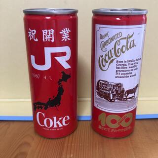 コカコーラ(コカ・コーラ)のコカコーラ レトロ缶 250㎖ 2本 未開封(その他)