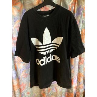 adidas - adidas オーバーサイズ Tシャツ