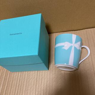 Tiffany & Co. - ティファニー ブルーボックス マグカップ ニューヨーク限定 リボン ブルーリボン
