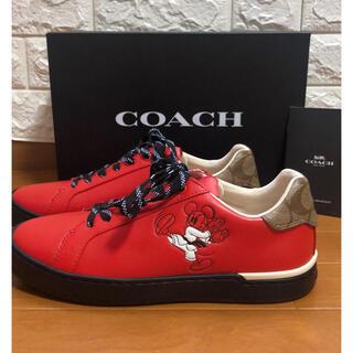 コーチ(COACH)のcoach スニーカー ディズニー ミッキー 7D 25cm(スニーカー)