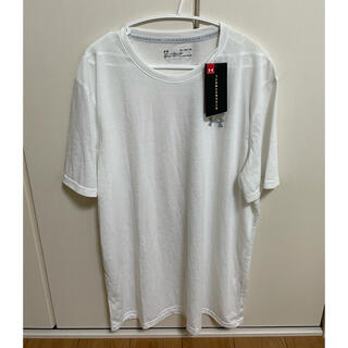 UNDER ARMOUR - 新品未使用 アンダーアーマー Tシャツ スレッドボーン メンズXL 白