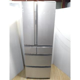 三菱 - 冷蔵庫 三菱 フローラル 置けるスマート 大容量 フレンチドア 自動製氷 省エネ
