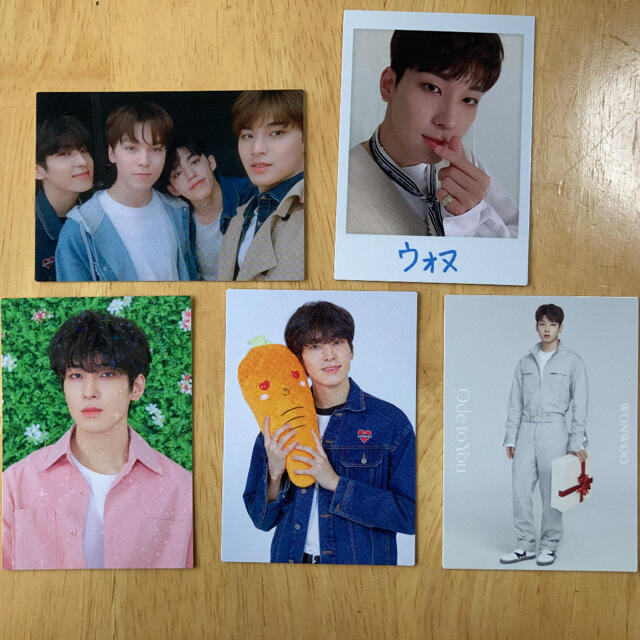 SEVENTEEN(セブンティーン)のseventeen ウォヌ トレカセット エンタメ/ホビーのCD(K-POP/アジア)の商品写真