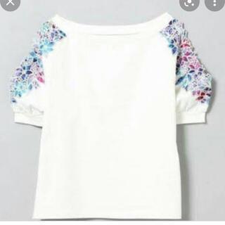 JEANASIS - ジーナシス 肩あき 花柄トップス