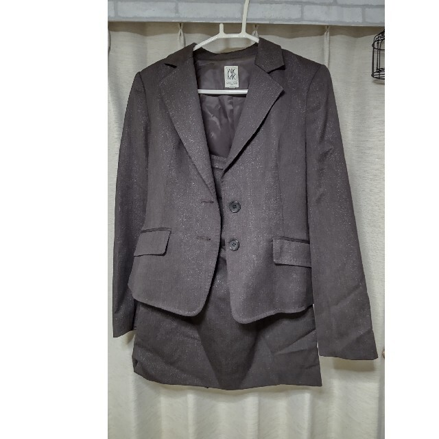 MICHEL KLEIN(ミッシェルクラン)のMICHEL KLEIN スカート スーツ レディースのフォーマル/ドレス(スーツ)の商品写真