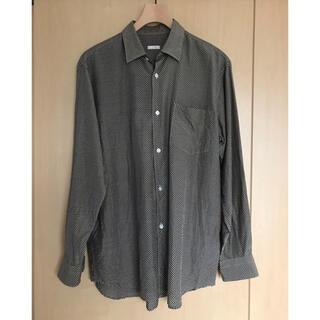 コモリ(COMOLI)のcomoli シルクドット コモリシャツ サイズ2(シャツ)