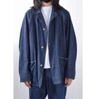 コモリ(COMOLI)のCOMOLI デニムワークジャケット(Gジャン/デニムジャケット)