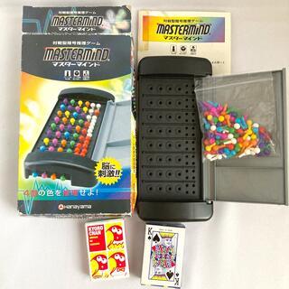 頭脳ゲームマスターマインド、トランプ、キョロちゃんカード 3セット(トランプ/UNO)