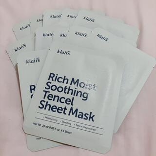 Dr. Jart+ - 【コメント必須】クレアス リッチモイストスージングシートマスク 12枚