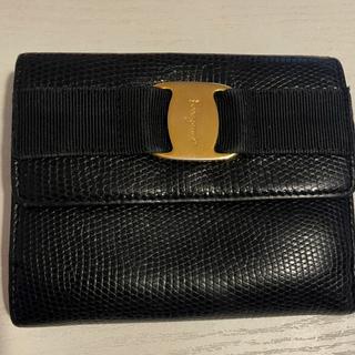 サルヴァトーレフェラガモ(Salvatore Ferragamo)のフェラガモ 黒財布(財布)