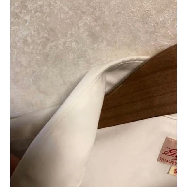 東洋エンタープライズ(トウヨウエンタープライズ)の①ゴールド gold ワークシャツ 白 東洋エンタープライズ メンズのトップス(シャツ)の商品写真