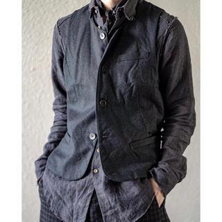 ポールハーデン(Paul Harnden)の2020AW araki yuu アラキユウ「Round Neck Vest」(ベスト)