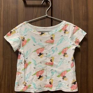 フェフェ(fafa)のfafa Tシャツ スワン柄 サイズ100(Tシャツ/カットソー)