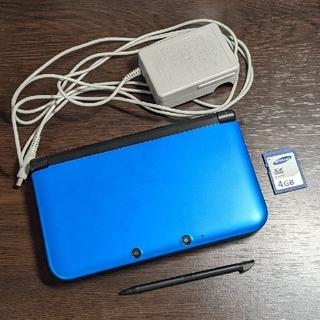 ニンテンドー3DS(ニンテンドー3DS)のニンテンドー3DS LL ブルー×ブラック(家庭用ゲーム機本体)
