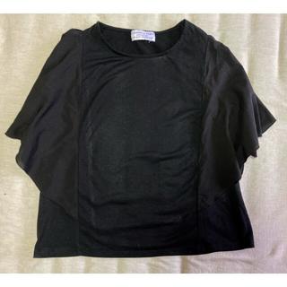 チャオパニックティピー(CIAOPANIC TYPY)の【夏物セール】CIAOPANIC TYPY シフォン袖Tシャツ(Tシャツ(半袖/袖なし))