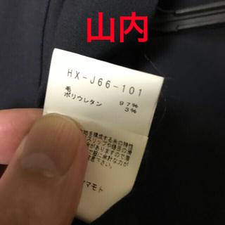 ヨウジヤマモト(Yohji Yamamoto)のyohjiyamamoto13ss リバーシブルロングジャケット(テーラードジャケット)