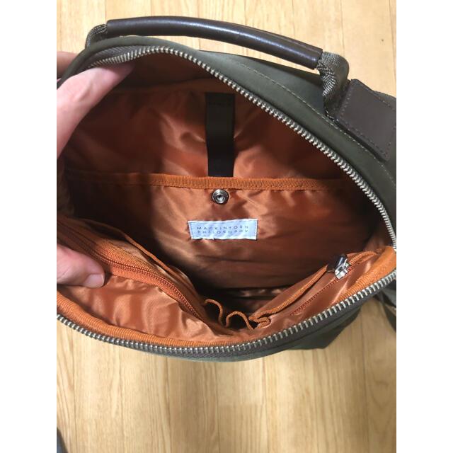 MACKINTOSH PHILOSOPHY(マッキントッシュフィロソフィー)の【断捨離クリアランス】マッキントッシュフィロソフィー リュック  メンズのバッグ(バッグパック/リュック)の商品写真