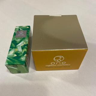 Oneオールインワンパワーリフティングクリーム+ディープセラムおためし(オールインワン化粧品)