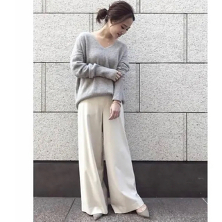 DEUXIEME CLASSE - 人気完売*定価3.6万円【Deuxieme Classe】ウールワイドパンツ