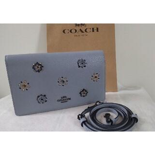 コーチ(COACH)の【新品未使用】コーチ クラッチ お財布 バッグ(クラッチバッグ)