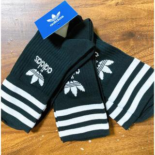 adidas - 新品 サイズ 28〜30cm アディダスオリジナルス ミッドカット靴下 1足