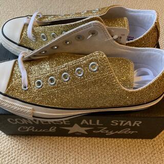 CONVERSE - 【新品未使用】CONVERSE ALL STAR GLITTER 24cm