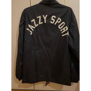 ステューシー(STUSSY)の[美品]Jazzy Sportコーチジャケット(ナイロンジャケット)