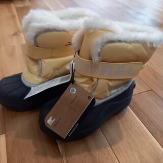 ソレル(SOREL)の【新品タグ付き】SOREL ソレル スノーブーツ キッズ 17cm(ブーツ)