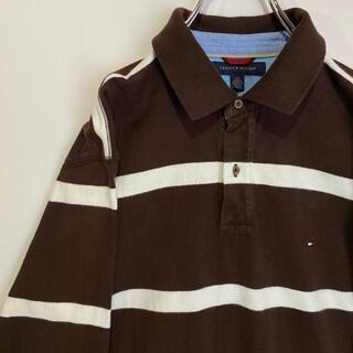 トミーヒルフィガー(TOMMY HILFIGER)のTommy HILFIGER トミーヒルフィガー ポロシャツ ボーダー(ポロシャツ)