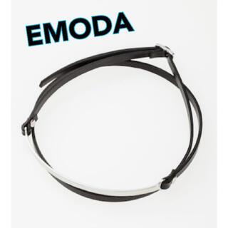 エモダ(EMODA)の*SALE!新品未使用♪ EMODA レザーチョーカー*(ネックレス)
