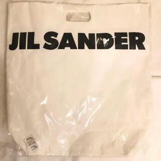 Jil Sander - 特大 非売品 Jil Sander ジルサンダー ショッパー トートバッグ