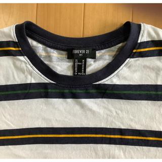 フォーエバートゥエンティーワン(FOREVER 21)のForever21  ボーダーTシャツ(Tシャツ/カットソー(半袖/袖なし))