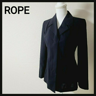 ロペ(ROPE)の【美品】ROPE ロペ ジャケット 4つボタン Mサイズ(テーラードジャケット)