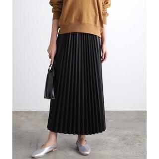 ヴィス(ViS)の【WEB限定】エコレザープリーツスカート ViS(ロングスカート)