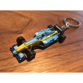 ルノー(RENAULT)のルノー F1 ミニカー キーホルダー ケース付 レア(ミニカー)