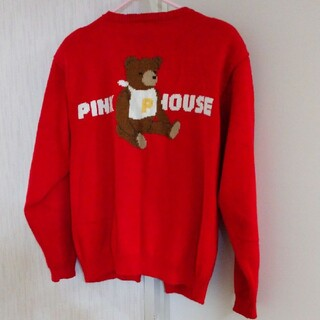 ピンクハウス(PINK HOUSE)のピンクハウスのくまのカーデガン(カーディガン)