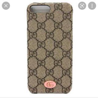 グッチ(Gucci)のiPhone8plus ケース GUCCI ピンク(iPhoneケース)