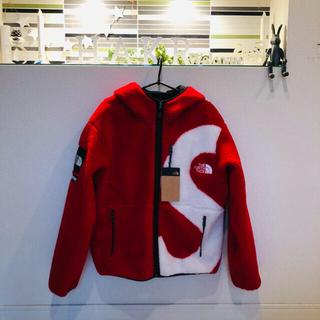 シュプリーム(Supreme)のsupreme s logo hooded fleece north face(パーカー)