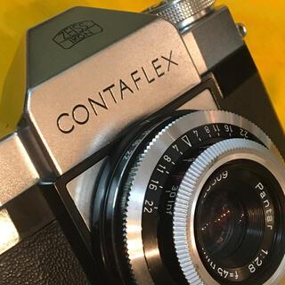 LEICA - ZEISS IKON CONTAFLEX ドイツ製一眼レフ ビンテージ 現状不動