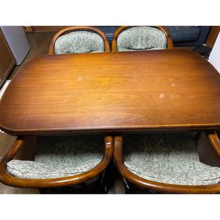 カリモクカグ(カリモク家具)のカリモク ダイニングテーブルチェアセット(ダイニングテーブル)