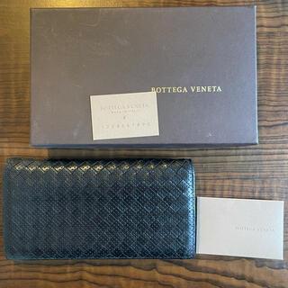 ボッテガヴェネタ(Bottega Veneta)のボッテガヴェネタ 長財布 イントレチャート パンチングレザー(長財布)