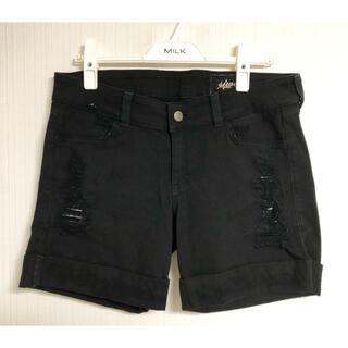 シーウィー(Siwy)のSiwy シーウィー レディース パンツ ズボン ショートパンツ 黒 BLACK(ショートパンツ)