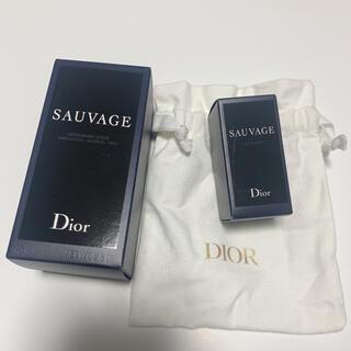 ディオール(Dior)のディオール ソヴァージュ オードゥ トワレ ミニ パフューム ボディ スティック(香水(男性用))