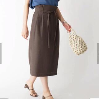エージーバイアクアガール(AG by aquagirl)のアクアガール タイトサッシュデザインスカート(ロングスカート)