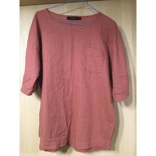 レイジブルー(RAGEBLUE)のRAGEBLUE ⭐️七分袖シャツ.紅色(Tシャツ/カットソー(七分/長袖))