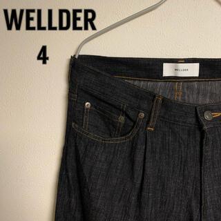 1LDK SELECT - 【希少】WELLDER ヴェルダー 5ポケット テーパード パンツ