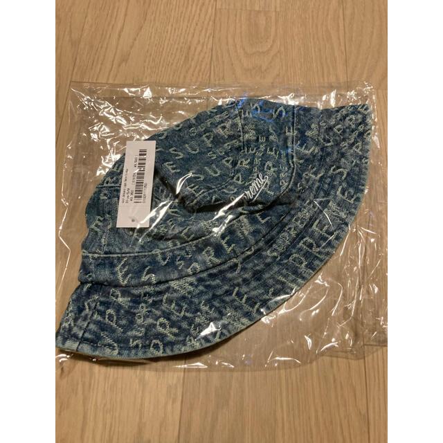 Supreme(シュプリーム)のS/M シュプリーム デニム クラッシャー ハット メンズの帽子(ハット)の商品写真